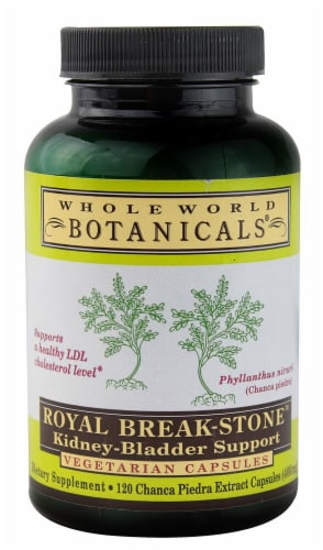 Whole World Botanicals Royal Break Stone Kidney Bladder Support Perspective: front