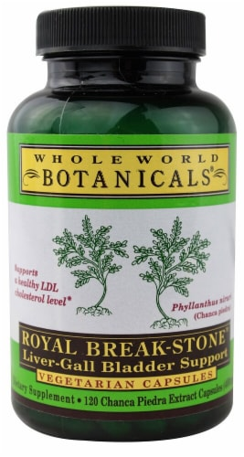 Whole World Botanicals Royal Break Stone Liver Gall Bladder Support Perspective: front
