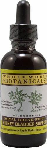 Whole World Botanicals  Royal Break Stone Kidney & Bladder Support Perspective: front