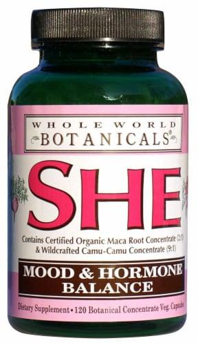 Whole World Botanicals  SHE Mood & Hormone Balance Perspective: front