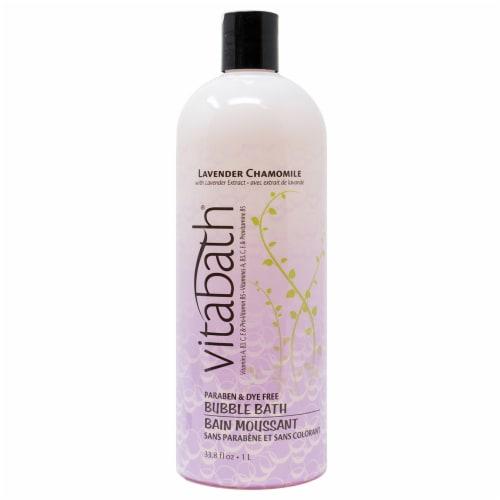 Vitabath Lavender Chamomile Bubble Bath Perspective: front