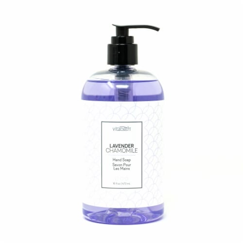 Vitabath Lavender Chamomile Hand Soap Perspective: front