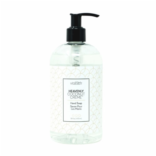 Vitabath Heavenly Coconut Creme Hand Soap Perspective: front