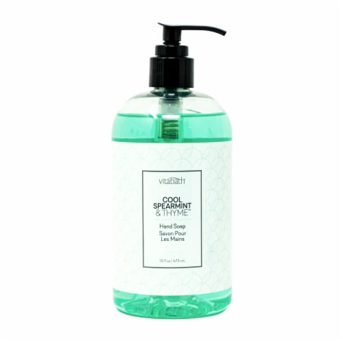 Vitabath Cool Spearmint & Thyme Hand Soap Perspective: front