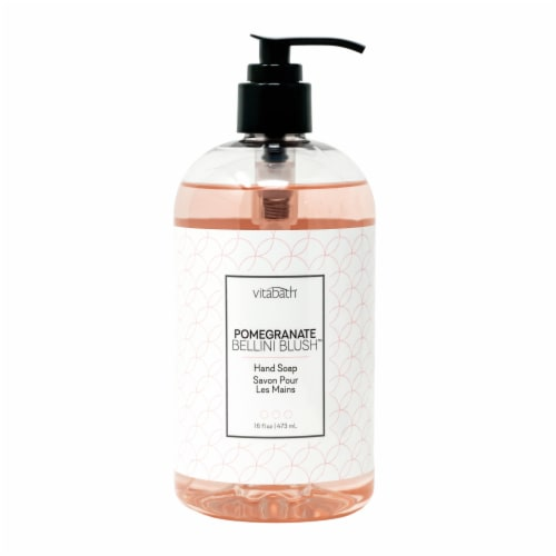 Vitabath Pomegranate Bellini Blush Hand Soap Perspective: front