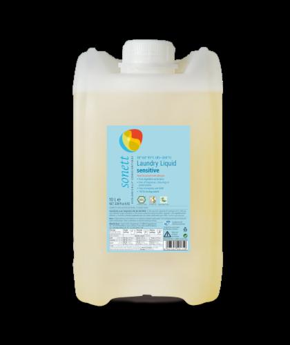 Sonett Organic Laundry Liquid Sensitive (2.6 gal/10L) Perspective: front