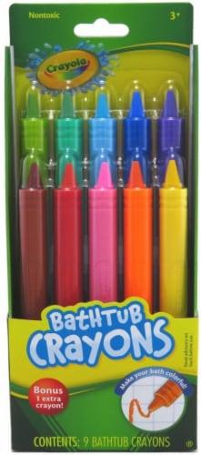 Crayola Bathtub Crayons Perspective: front
