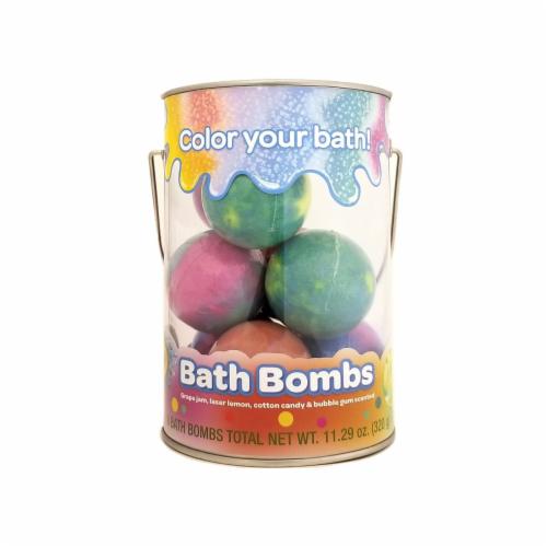 Crayola Bath Bomb Bucket Perspective: front