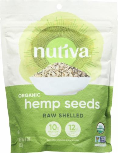 Nutiva Organic Raw Shelled Hempseed Superfood Perspective: front
