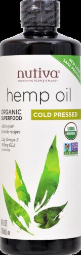 Nutiva Hempseed Oil Og2 Perspective: front