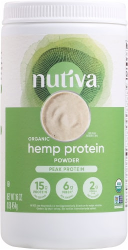 Nutiva 15G Organic Hemp Protein Perspective: front