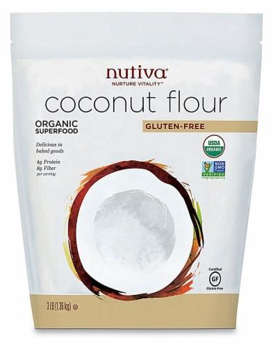 Nutiva  Organic Coconut Flour Perspective: front