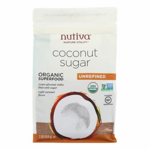 Nutiva Coconut Sugar - Case of 6 - 16 oz Perspective: front