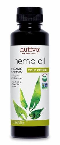 Nutiva  Organic Hemp Oil Perspective: front