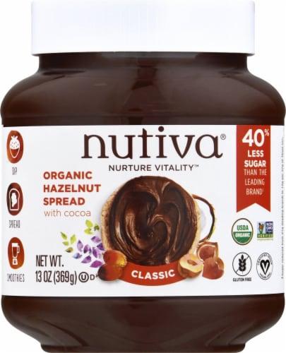 Nutiva® Chocolate Hazelnut Spread Perspective: front