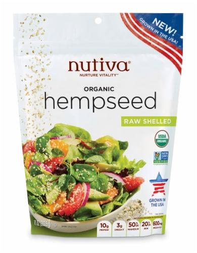 Nutiva Organic Raw Shelled Hempseed Perspective: front