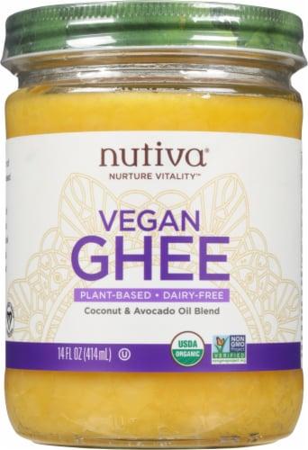 Nutiva Vegan Ghee Perspective: front