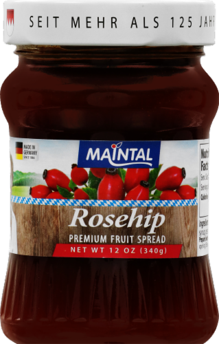 Maintal Rosehip Fruit Spread Perspective: front