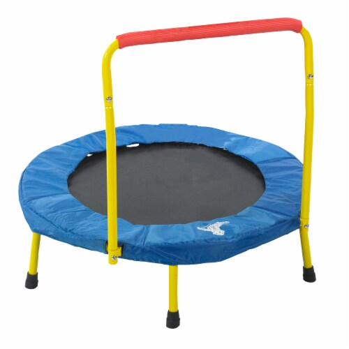 The Original Toy Company Fold & Go Trampoline Perspective: front