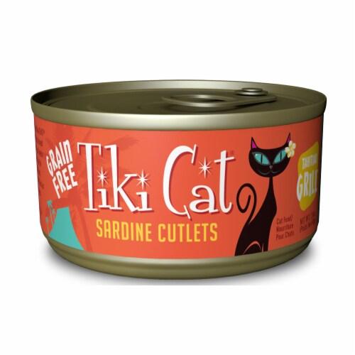 Whitebridge Pet Brands TK10750 Tahitian Grill Grain Free Sardine Cutlets Canned Cat Food - 6 Perspective: front