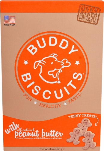 Cloud Star  Itty Bitty Buddy Biscuits™ Dog Treats   Peanut Butter Perspective: front