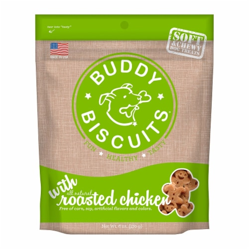 Buddy Biscuits Soft Roasted Chicken Perspective: front