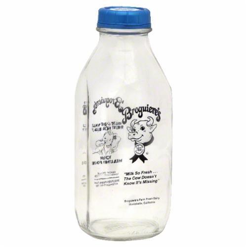 Broguiere's Dairy 2% Milk Perspective: front
