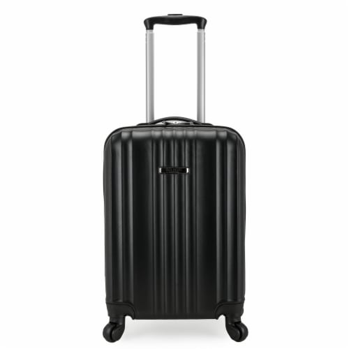 Traveler's Choice Elite Luggage Fullerton Hardside Carry-On Luggage with Spinner Wheels - Black Perspective: front