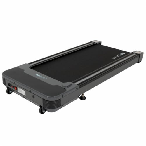 Happy Living Under Desk Electric Treadmill - Black Perspective: front