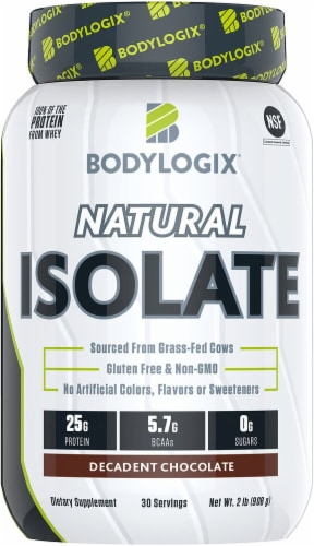 Bodylogix Vanilla Bean Natural Isolate Perspective: front