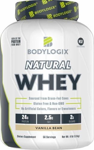 Bodylogix  Natural Whey   Vanilla Bean Perspective: front