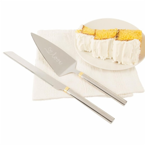 Cathys Concepts Love Cake Serving Set Perspective: front