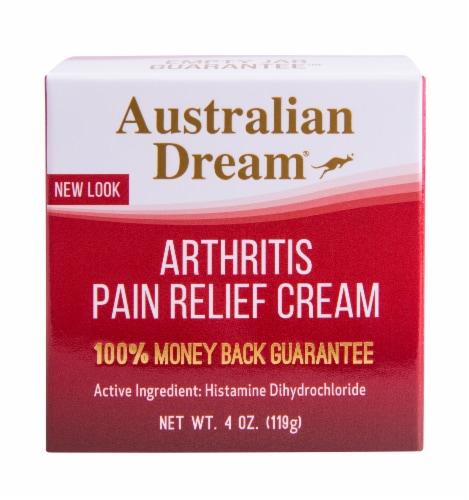 Australian Dream Arthritis Pain Relief Cream Perspective: front