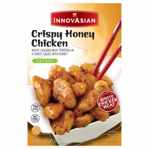 InnovAsian Cuisine Crispy Honey Chicken Frozen Meal Perspective: front