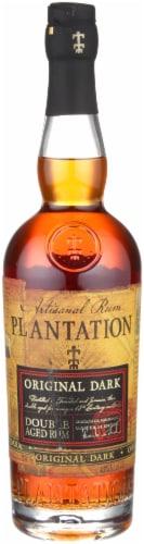 Plantation Original Dark Artisanal Rum Perspective: front