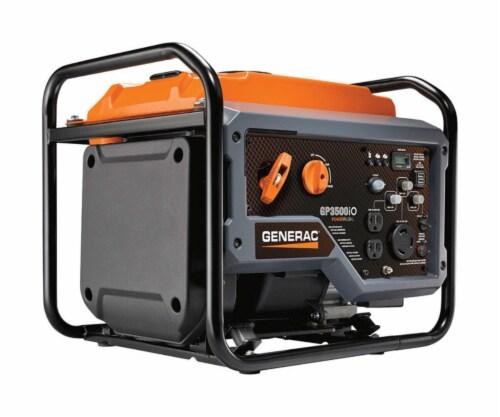 Generac GP Series 3000 watt Gasoline Inverter Generator - Case Of: 1; Perspective: front