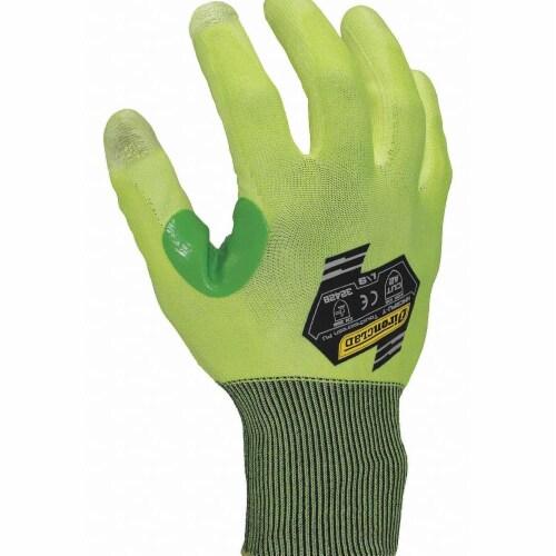 Ironclad Cut-Resistant Gloves,L/9,PR  KKC2PU-Y-04-L Perspective: front