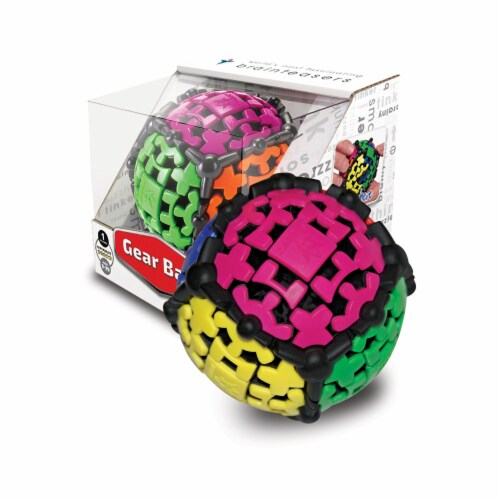 Recent Toys Gear Ball Brain Teaser Toy Perspective: front
