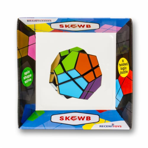 Recent Toys Meffert's Skewb Puzzle Perspective: front