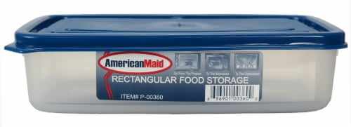 American Maid Rectangular Food Storage Container Perspective: front