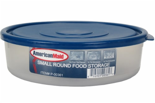 American Maid Small Round Food Storage Container Perspective: front