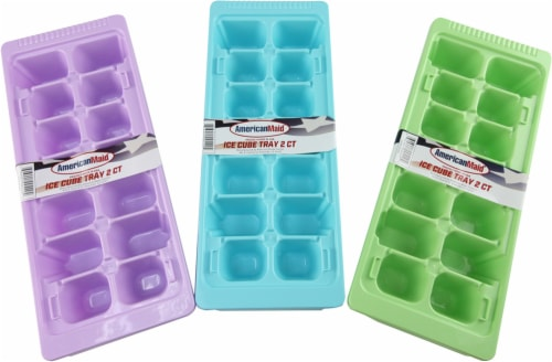 American Maid Ice Cube Tray - Assorted Perspective: front