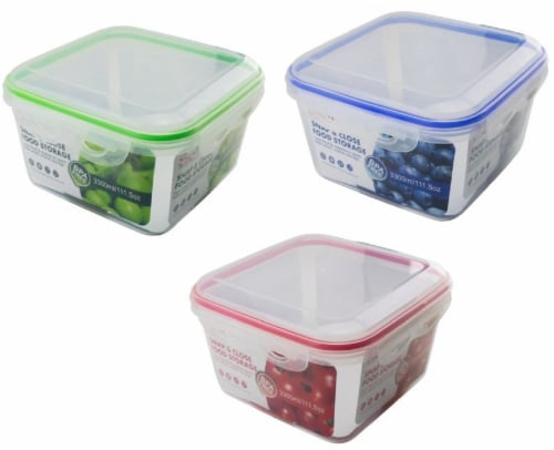 VM International Snap & Close Food Storage Container - Assorted Perspective: front