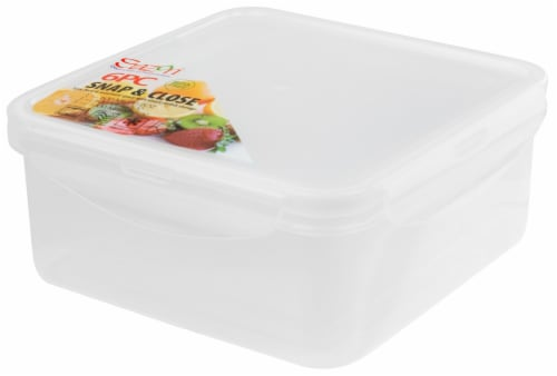 Sazon Snap and Close Food Storage Perspective: front