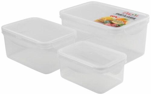 Sazon Rectangular Food Storage Perspective: front