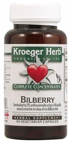Kroeger Herb  Bilberry Perspective: front