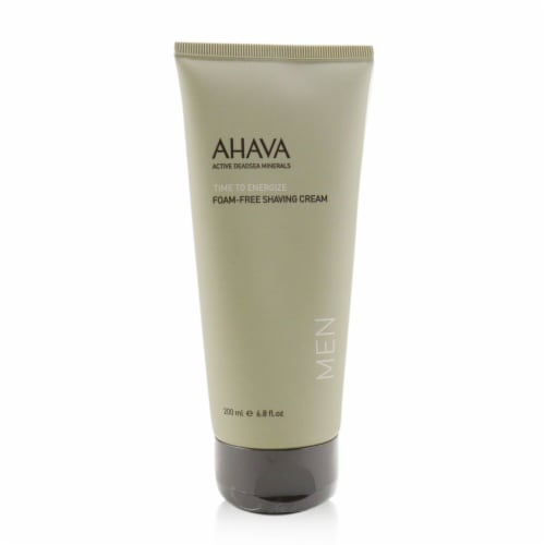 Ahava Time To Energize FoamFree Shaving Cream 200ml/6.8oz Perspective: front