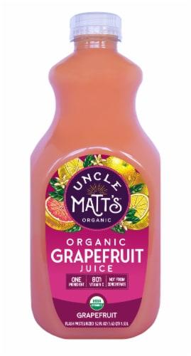 Uncle Matt's Organic Grapefruit Juice Perspective: front