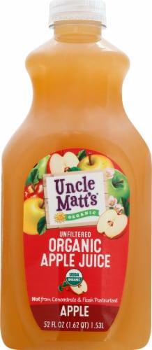 Uncle Matt's Organic Apple Juice Perspective: front