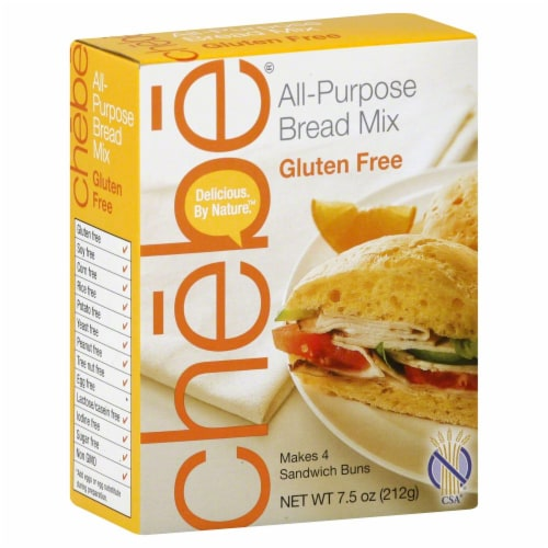 Chebe Gluten-Free All-Purpose Bread Mix Perspective: front